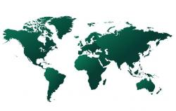 Wereldtalenkaart TVCN